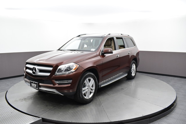 Pre-Owned 2015 Mercedes-Benz GL-Class